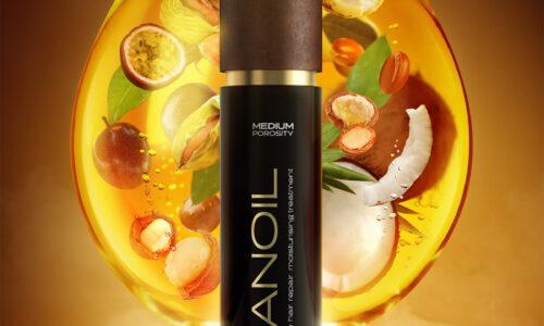 păr sănătos datorită Nanoil
